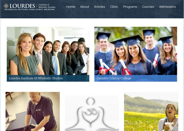 Lourdes Institute of Wholistic Studies at tfxStudio.com