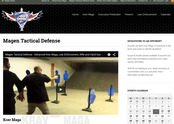Magen Tactical Defense at tfxStudio.com